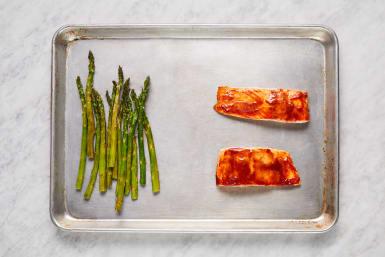 Roast Trout & Asparagus