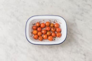 Préparer les tomates