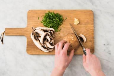 Couper les légumes