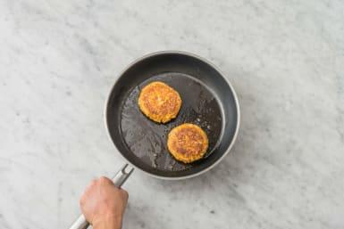 Vegaburgers bakken
