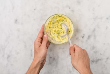 MAKE PARSLEY BUTTER