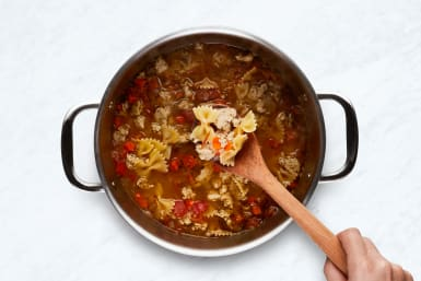 Simmer Soup and Pasta