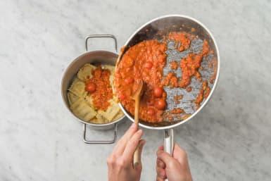 Tillsätt pasta