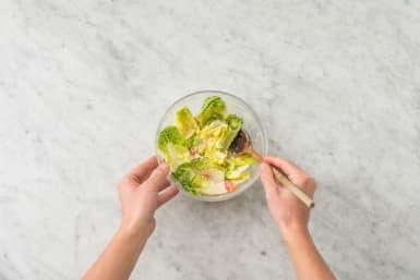 Assaisonner la salade