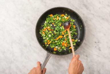 Woka grönsaker