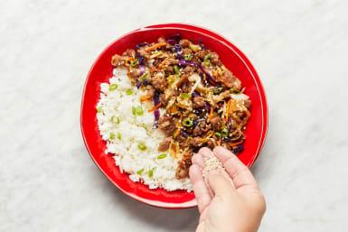 Warm Rice & Serve