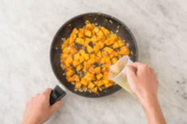 Pompoen koken