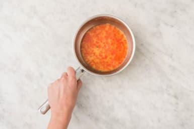 Préparer la sauce aigre-douce