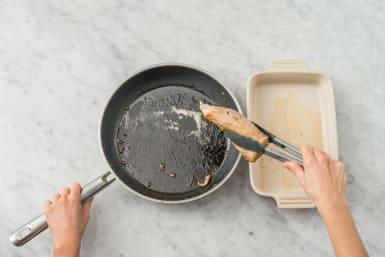 Cuire le filet mignon