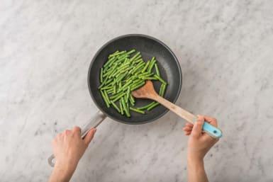 Stir-Fry the Green Beans