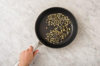 Torréfier les graines