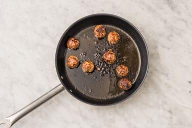 Fry the kofta