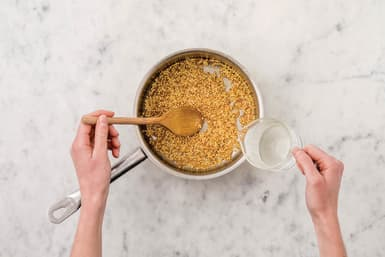 Cook the couscous