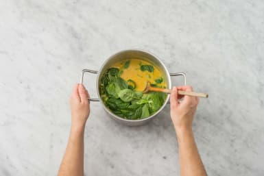 Suppe fertigstellen