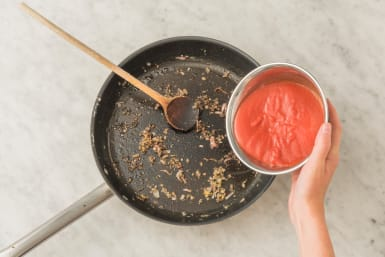 Cuire et préparer la sauce