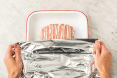 Cuire le pain de viande