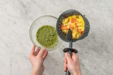 Dip & Gemüse vollenden