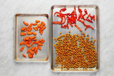 Roast Veggies & Chickpeas