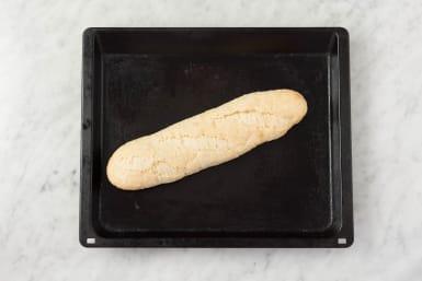 Baguette aufbacken