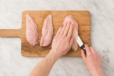 PREP THE CHICKEN