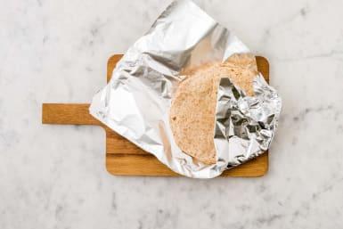 Réchauffer les min-tortillas
