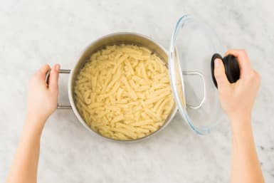 Cuire les penne