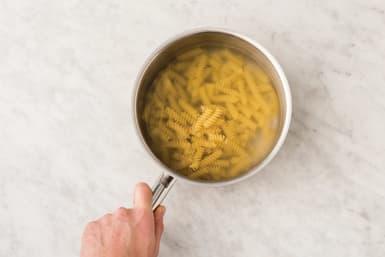 Cook the fusilli