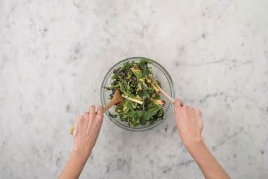 Toss the salad