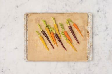 Roast the carrots