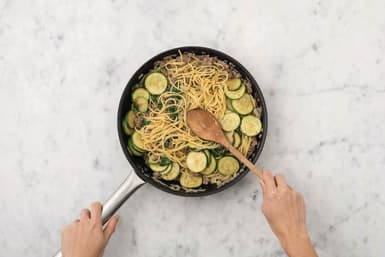 Finish the pasta