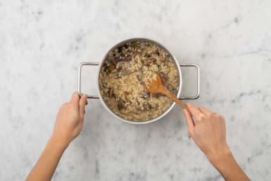 Cuire le risotto