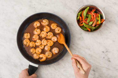 COOK SHRIMP  and ASSEMBLE