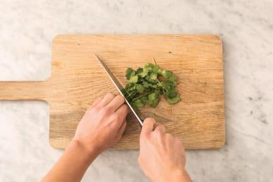 Prep the quinoa