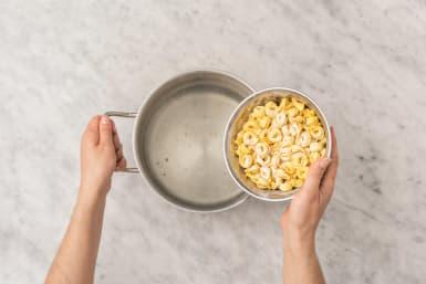 Cook tortellini