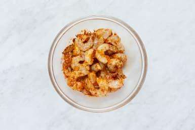 Marinate Shrimp