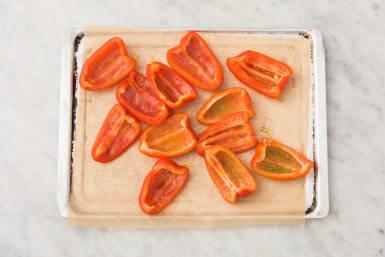 Paprika roosteren
