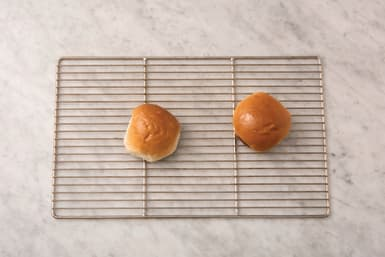 Bake the burger buns