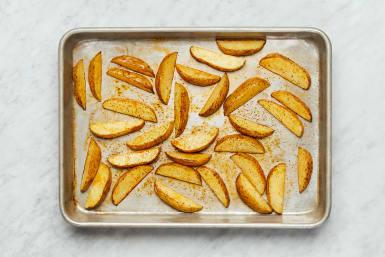Cook Potatoes & Mix Sauce