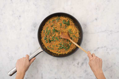 Cook the lentils