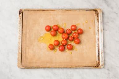Tomaten backen