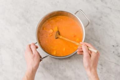 Poursuivre la cuisson