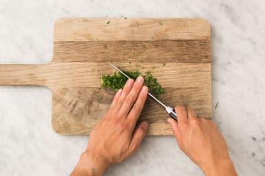Couper le persil