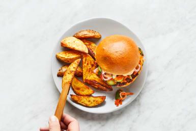 Assemble Burgers & Serve