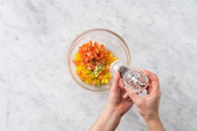Förbered salsa