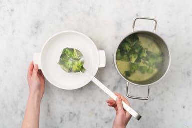 Broccoli vorkochen
