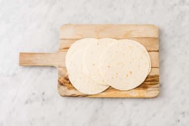Värm tortillas