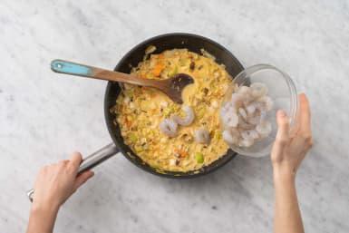 Préparer le curry