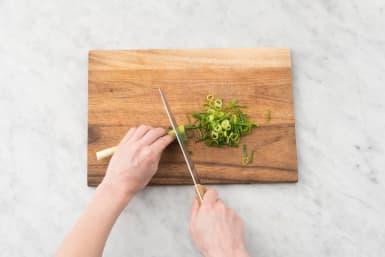 Forbered grøntsager