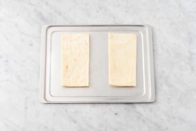 Toast flatbread