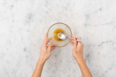 Prep and honey-mustard